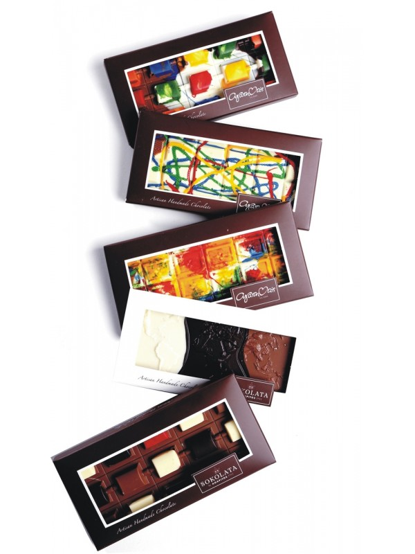 5 Design Chocolate bars 100g [#17-12]