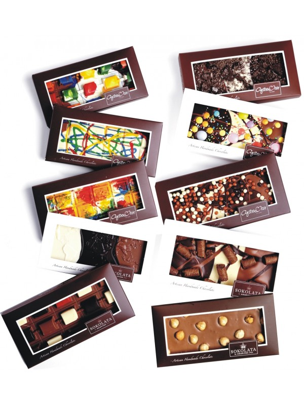 10 Chocolate Βars 100g OF YOUR CHOICE [#17-13]